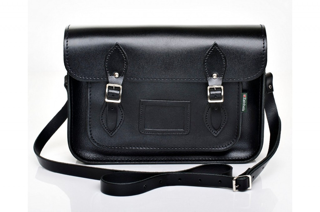 Black Leather Satchel from £86 click to visit Zatchels