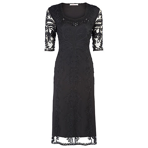 Black Cornelli Evening Dress £79 click to visit Jacques Vert