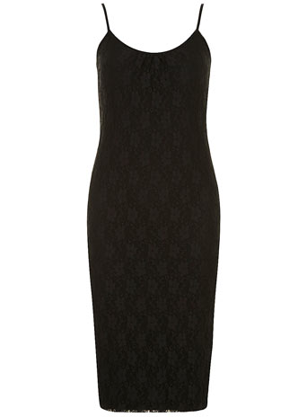 Black lace cami midi dress     Price: £22.00 click to visit Dorothy Perkins