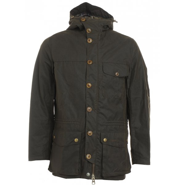 Barbour Heritage, Olive Galashields Waxed Jacket    Now From £255.55 click to visit Repertoire Fashion