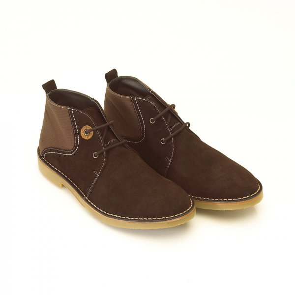 Barbour Lifestyle Boots, Brown 'Camillo' Desert Boot   Now From £94.95 click to visit Repertoire Fashion