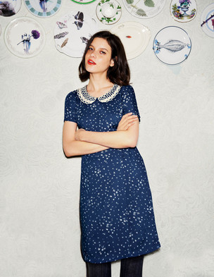 Vintage Collar Dress WH601 (Was £89.00 ) now £53.40 click to visit Boden