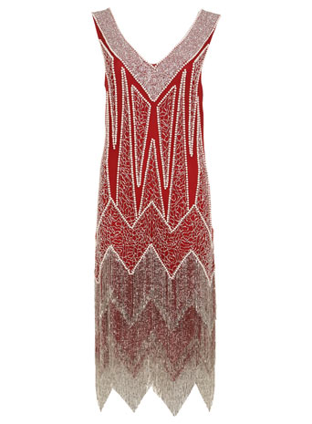 Red Flapper Dress     Price: £190.00 click to visit Miss Selfridge
