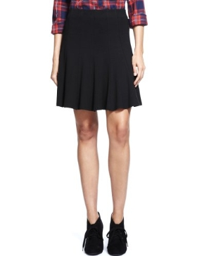 M&S Collection Panelled Skater Mini Skirt Product Code: T577394 £25.00 click to visit M&S