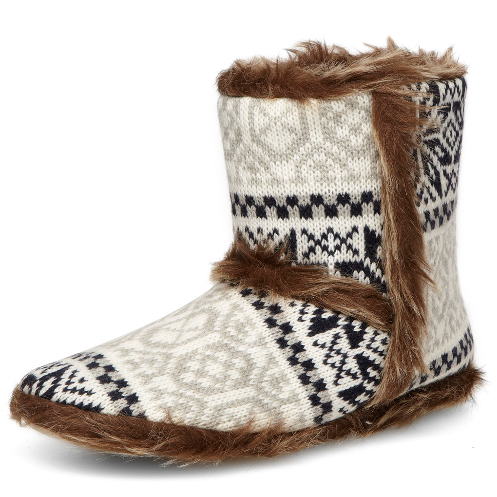 Navy fairisle boots     Was £15.00     Now £7.50 click to visit Dorothy Perkins