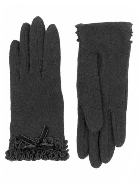 Per Una Wool Rich Ruffle & Bow Gloves with Angora Product Code: T011062P Now: £12.00 click to visit M&S