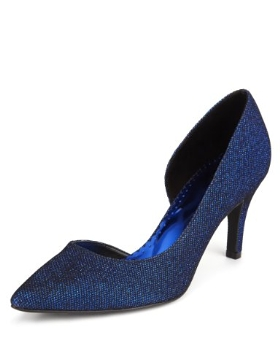 Per Una Pointed Toe Court Shoes with Insolia® Product Code: T020307 £25.00 click to visit Marks and Spencer