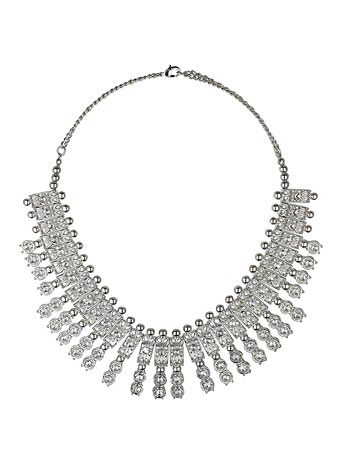 Rhinestone fan necklace     Was £16.50     Now £11.55 click to visit Dorothy Perkins