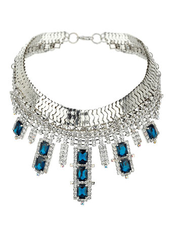 Midnight Sparkle Collar     Price: £50.00 click to visit Miss Selfridge
