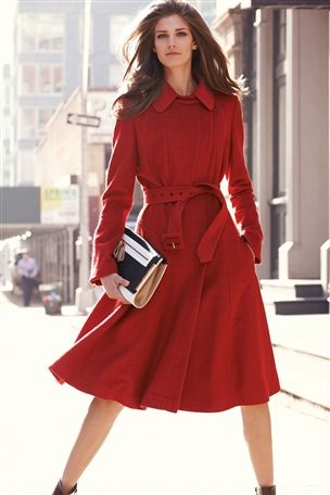 Fit And Flare Coat £85 click to visit Next