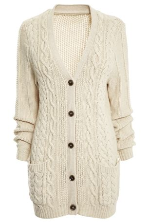 Cable Knit Cardigan £48 click to visit Next
