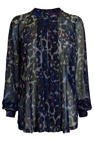Animal Print Pleat Front Blouse £30 click to visit Next