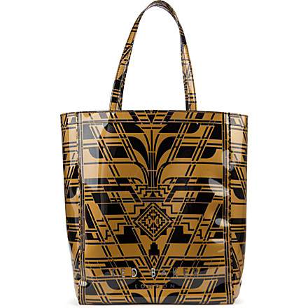 TED BAKER Art Deco large shopper bag now £27 click to visit Selfridges