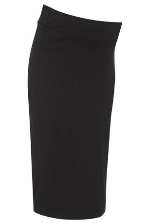 Black Tube Skirt (Maternity) £18 click to visit Next