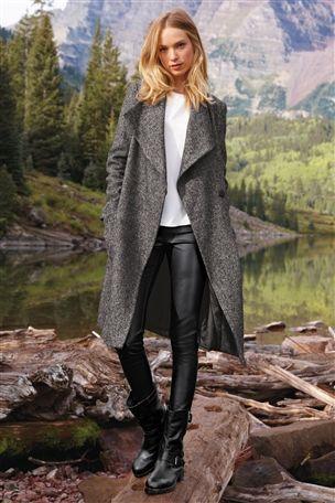 Tweed Waterfall Coat £75 click to visit Next