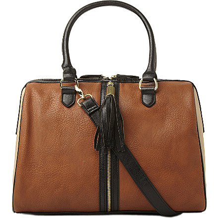 STEVE MADDEN Colour block handbag now £48 click to visit Selfridges
