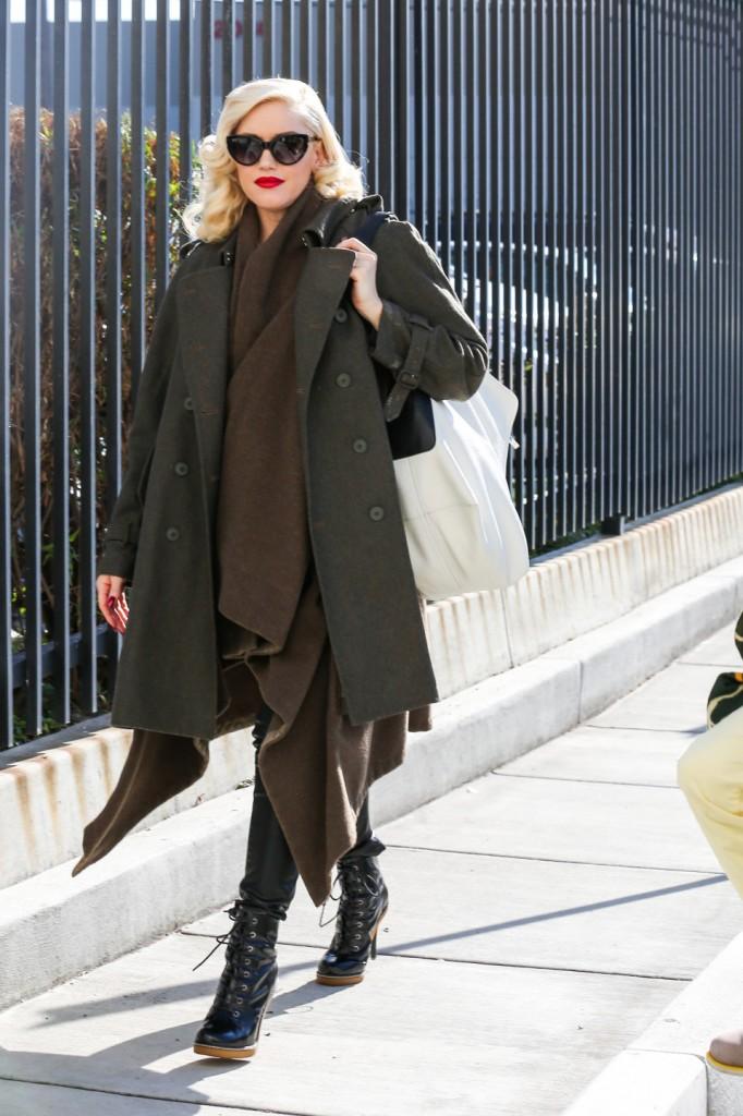 Gwen Stefani's stylish pregnancy