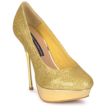 French Connection  JEZABEL GOLD  now £ 91.00 click to visit Spartoo