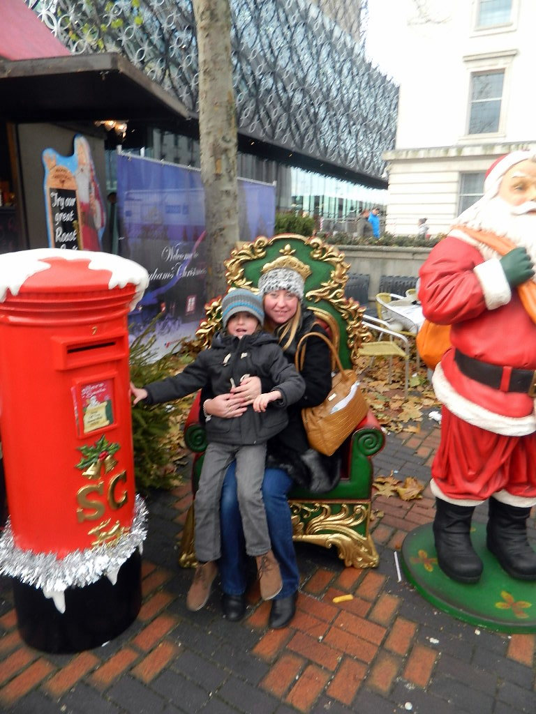 Christmas in Birmingham.
