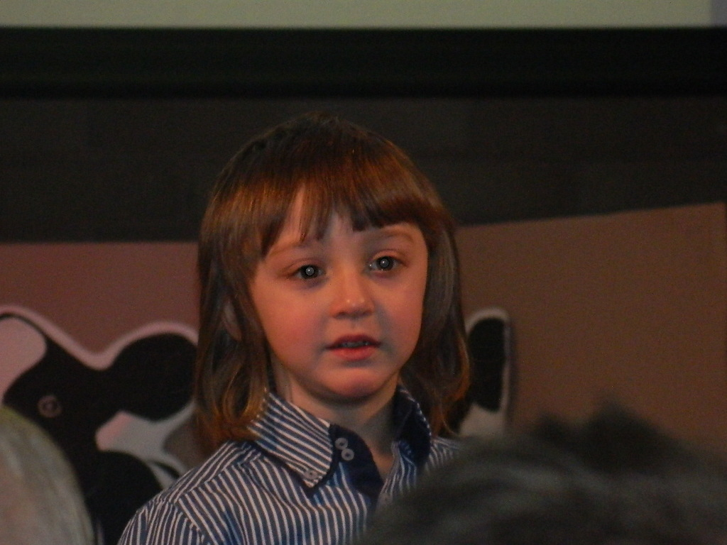 Joe takes a role as narrator in his school nativity.