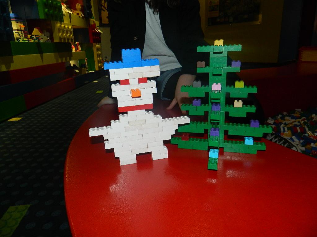 Christmas Lego figures