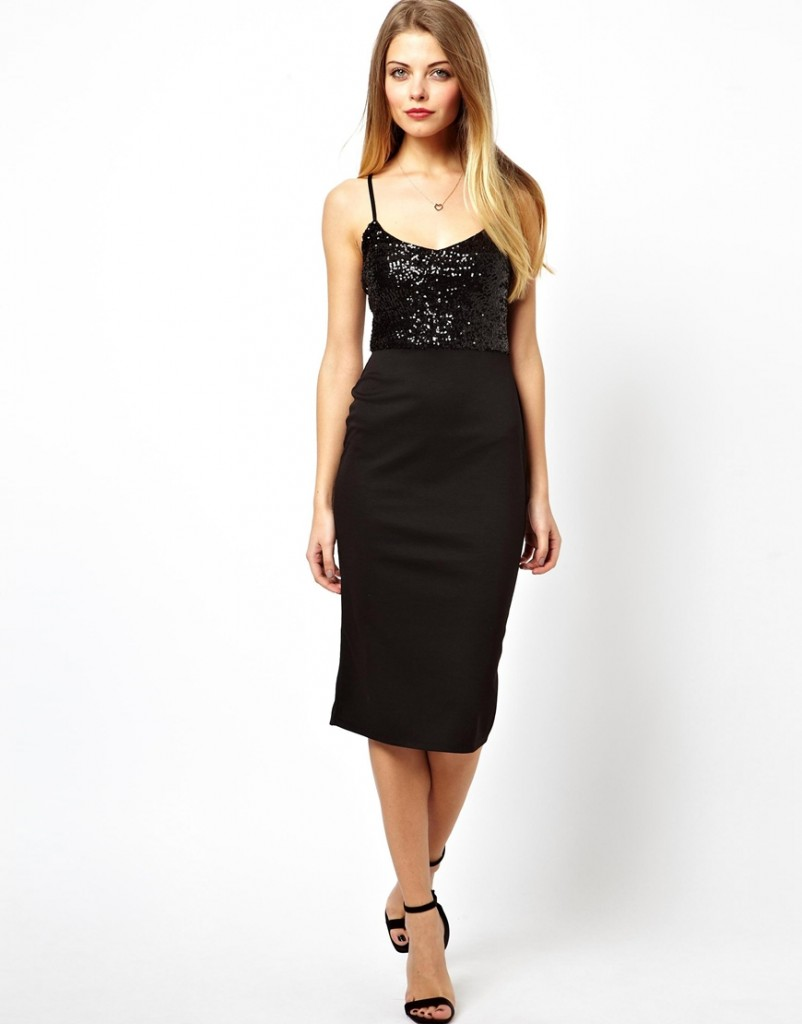 ASOS Sequin Top Cami Dress £35.00 NOW £21.00 click to visit ASOS
