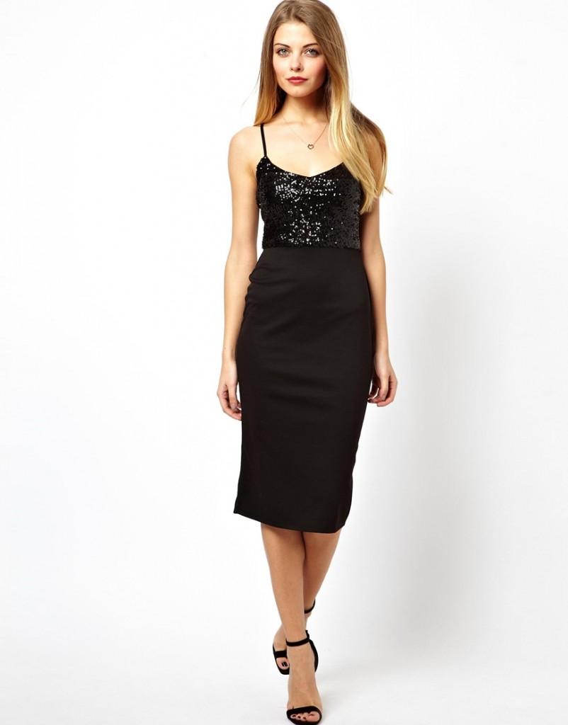 ASOS Sequin Top Cami Dress £35.00 NOW £21.00 click to visit ASOS