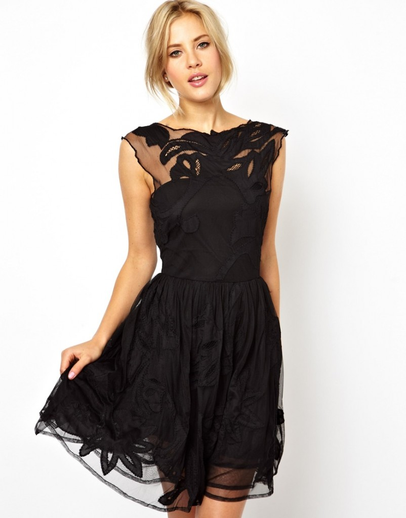 ASOS Gothic Prom Dress £100.00 NOW £70.00 click to visit ASOS