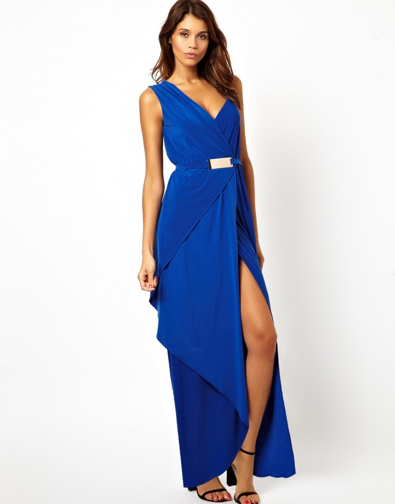 ASOS Bar Belt Drape Maxi £55.00 NOW £27.50 Click to visit ASOS