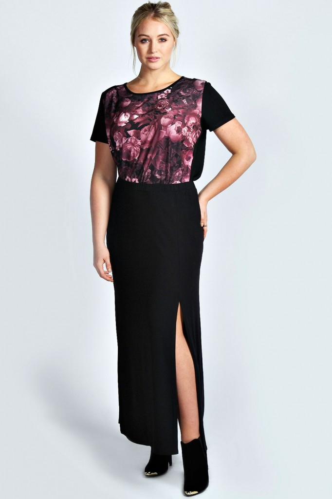Emily Maxi Skirt With Split Product code: pzz99994 £15 click to visit Booho