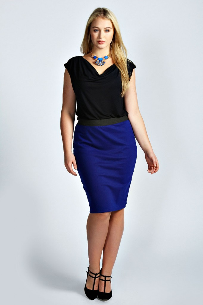 Olivia Pencil Skirt Product code: pzz99996 £12.00 click to visit Boohoo