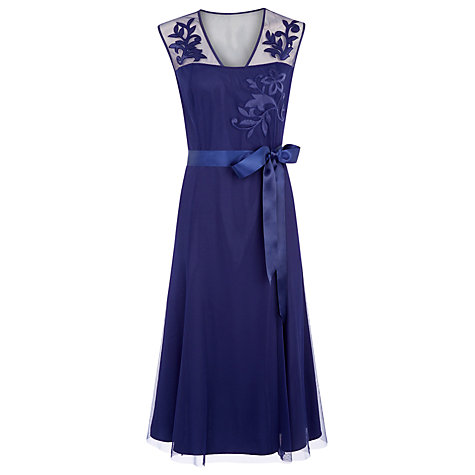 Prussian Blue Occasion Dress now £69 click to visit Jacques Vert