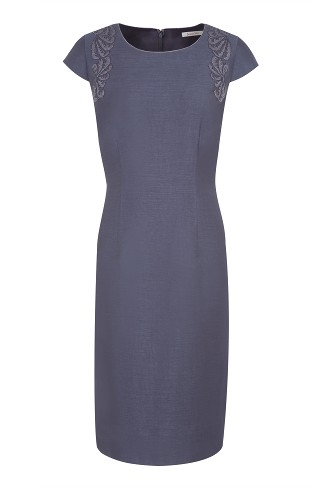 Twilight Bead Detail Dress was £159 now £59 click to visit Jacques Vert