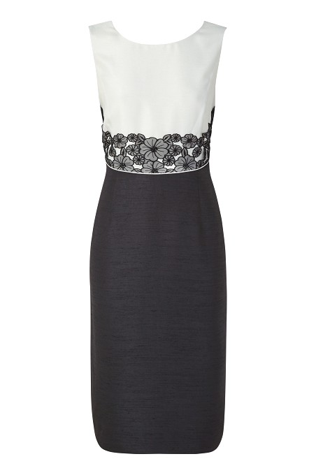 Lace Detail Shift Dress was £169 now £79 click to visit Jacques Vert
