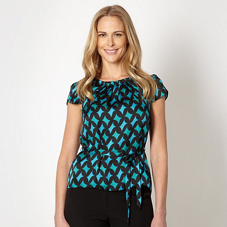 Turquoise geometric circles shell top £12 click to visit Debenhams