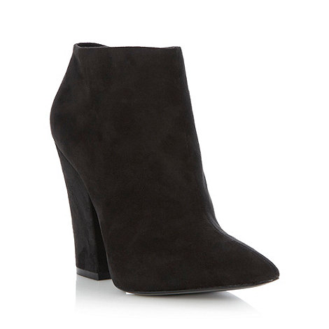 Faith Black high heeled pointed ankle boots £19.50 click to visit Debenhams