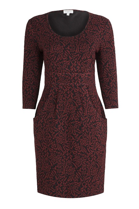 Rose Floral Jacquard Dress was £89 now £29 click to visit Kaliko