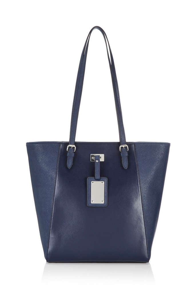 Navy Blue Shopper Bag Was £26.00 Now £20.80 click to visit Wallis