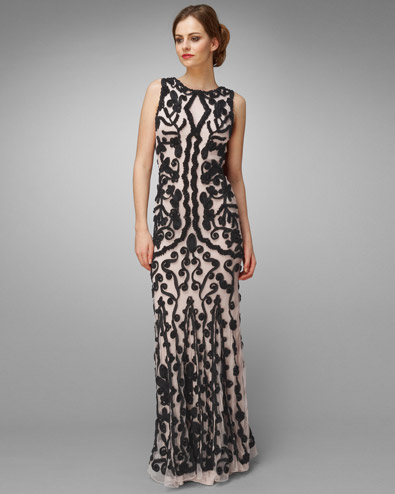 Lexy Tapework Full Length Dress £295.00