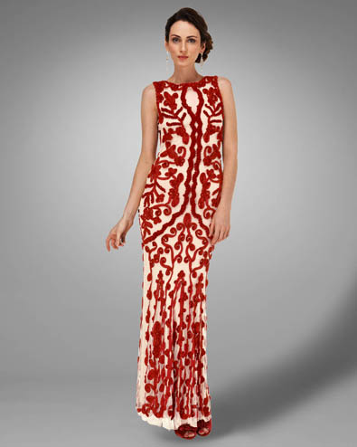 Mayfair Tapework Full Length Dress £295.00 click to visit Phase Eight
