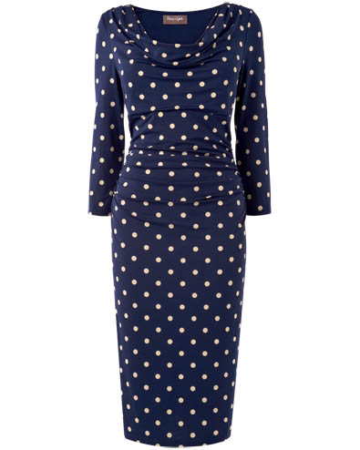 Liv Spot Dress £79.00 click to visit Phase Eight