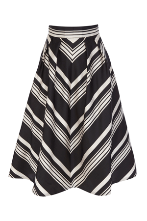 MAE STRIPE SKIRT £110.00 click to visit Coast