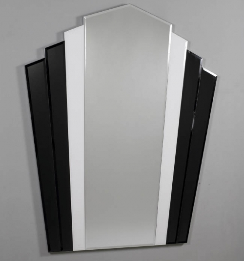 This is a fabulous Art Deco mirror - definite inspiration.