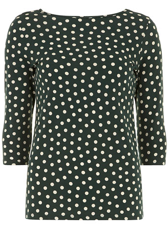Forest spot print top     Price: £9.00 click to visit Dorothy Perkins