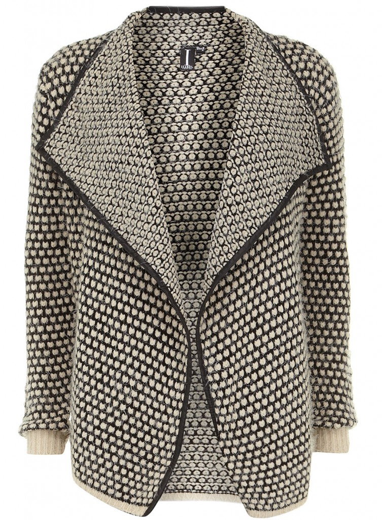 Cream dot knit cardigan     Was £35.00     Now £20.00 click to visit Dorothy Perkins
