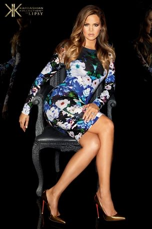 Kardashian Long Sleeve Floral Midi Dress £58 click to visit Next