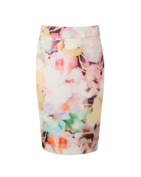 AMARANT Electric daydream print skirt     £109.00 click to visit Ted Baker