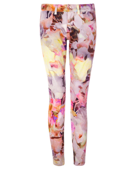 BLOEM Electric daydream printed jean     £109.00 click to visit Ted Baker