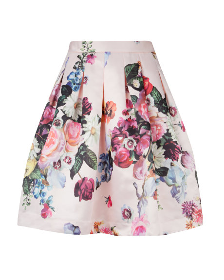 FLOWTII Oil painting printed skirt     £129.00 click to visit Ted Baker