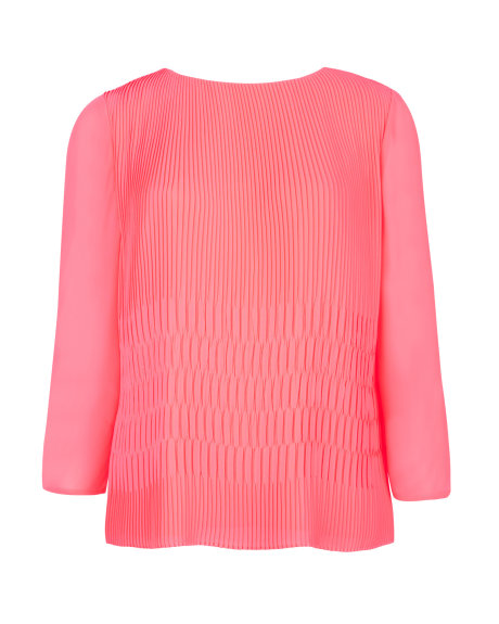 GYDA Pleated top     £99.00 click to visit Ted BAKER